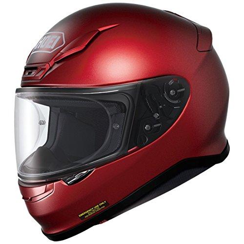 Shoei  unisex-adult full-face-helmet-style RF-1200 Helmet (Wine Red, Large), 1 Pack