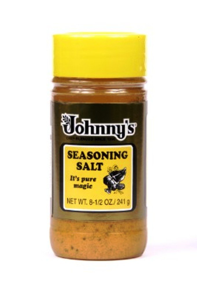 Johnny's Fine Foods Seasoning Salt, 16-Ounce Packages (Pack of 6)