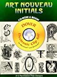 Art Nouveau Initials CD-ROM and Book (Dover Electronic Clip Art)