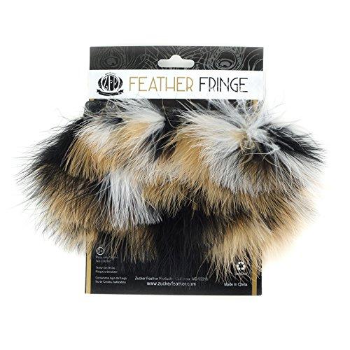 ZUCKER Mixed Marabou Feather Fringe - 2.5