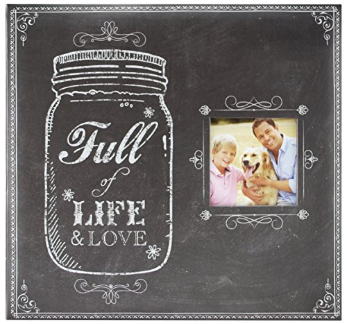 "Price comparison product image MCS MBI 12.5x13.5 Inch ""Full of Life and Love Mason Jar"" Scrapbook Album with 12x12 Inch Pages with Photo Opening (860083)"