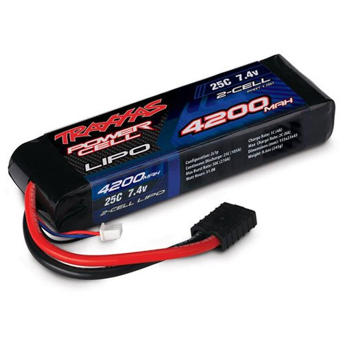 Traxxas 4200mAh 7.4V 2S 2-Cell 25C LiPo Battery