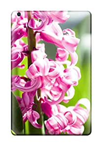 Premium Durable Amazing Pink Flowers Fashion Tpu Ipad Mini/mini 2 Protective Case Cover
