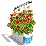 Indoor Hydroponics Grower Kit, Smart Herb Garden Kit Mini Plant Grow LED Light-Growing