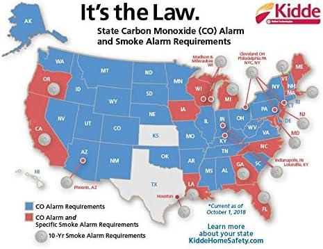 Kidde Sealed Lithium Battery Power Smoke Detector Alarm | Model i9010
