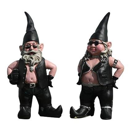 Biker Gnome Couple