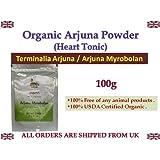 ARJUNA POWDER 100% USDA CERTIFIED ORGANIC - 100gm