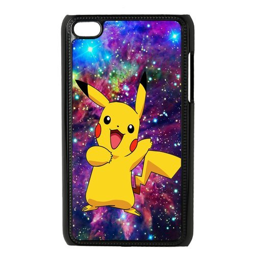 Case.Store-Pikachu Phone Case Customized Hard Snap-On Plastic Case for iPod Touch 4, 4th Generation Cases iPod 4 TY066 (Generation Ipod Case Pikachu 4th)
