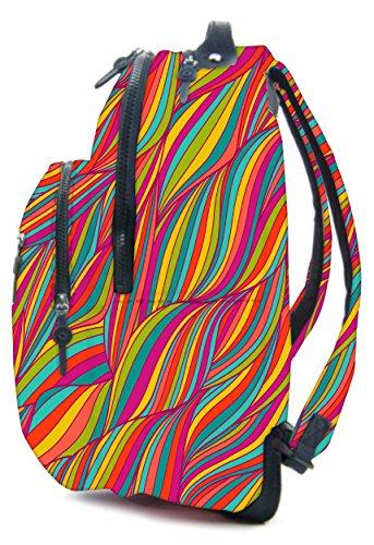 Snoogg Cartable, Multicoloured (multicolore) - RPC-5516-AOPBKPAK