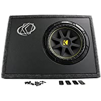 Kicker 10 Inch 300W Loaded Subwoofer Enclosure | 10TC104 (Certified Refurbished)