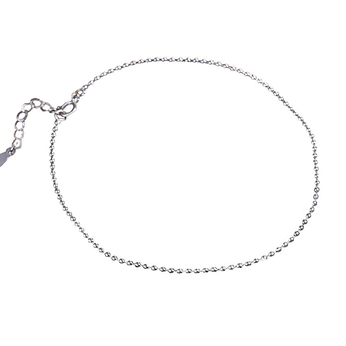 Anklet for Women Girl 925 Sterling Silver Anklets,8.3
