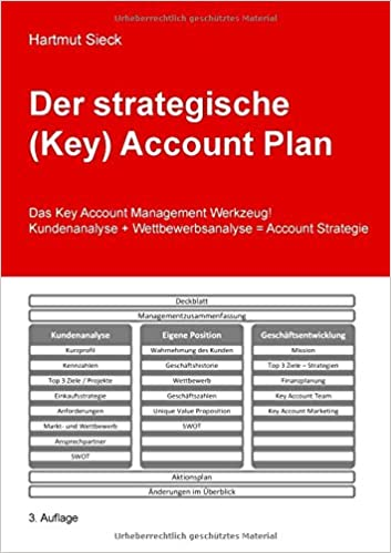 Buy Der Strategische (Key) Account Plan Book Online at Low Prices in ...