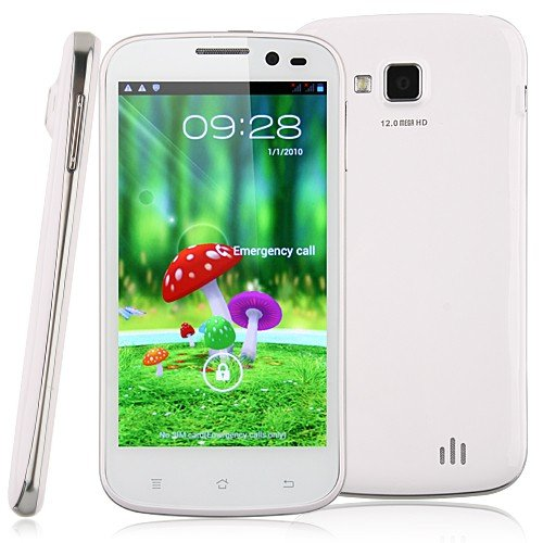 BW® Star B94M Smart Phone Android 4.1 MTK6589 Quad Core 3G GPS 1G RAM 4.5 Inch QHD ()