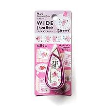5Set X Plus Wide Deco Rush Thank You Rabitto Decoration Tape Japan