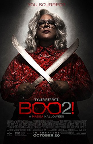 BOO 2! A MADEA HALLOWEEN (2017) Original Authentic Movie Poster - VER B - Double-Sided - 27x40 - Tyler Perry - Cassi Davis - THIS IS NOT A DVD!! (Boo A Madea Halloween')
