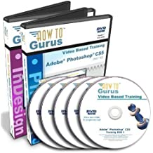 Adobe Photoshop CS5 Tutorial and Adobe InDesign CS5 Training on 5 DVDs