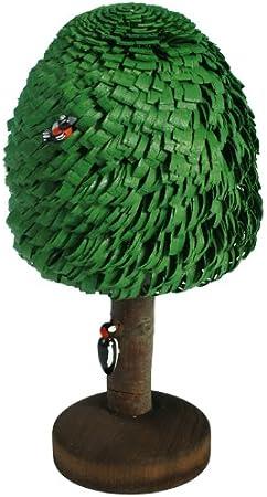 Ringelbaum Laubbaum mit Stamm natur Holzbaum H= 3cm NEU Baum Dekoration Seiffen