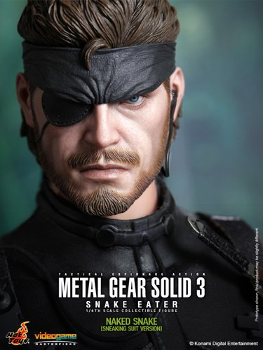 Hot Toys - Metal Gear Solid 3 Videogame Masterpiece 1/6 Naked Snake (Sneaki