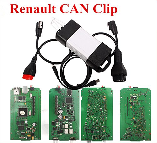 SATKIT 2016 New V159 Can Clip Diagnostic Interface Scan Reprog for Renault