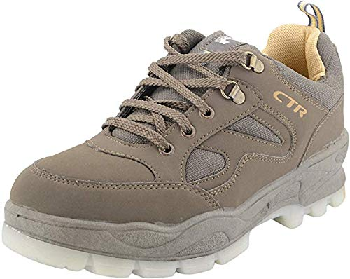 8ba275022417 Add-Gear CTR Trekking Shoes Anti-Skid Hiking Shoes Slip Resistant Mountain  Boots in Action Trekking Mouse Beige (UK 11)  Buy Online at Low Prices in  India ...