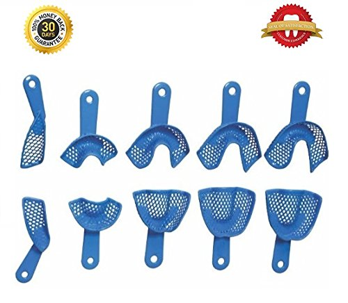 DentalFlex - Flexible Impression Trays (Set of 10)