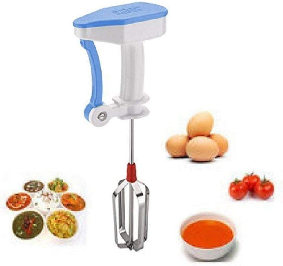 Radhna Power Free Hand, Stick or Immersion Blender, Beater Kitchen Appliance with Smoothly Rotating Gears & High Speed Operation Multi Colors Available (1 pcs)