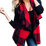 Coper New Womens Fashion Vest Woolen Coat Warm Cardigan (S Bust:90cm)