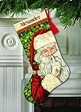 Dimensions Crafts 70-08938 Needlecraft Secret Santa Stocking in - Best Reviews Guide