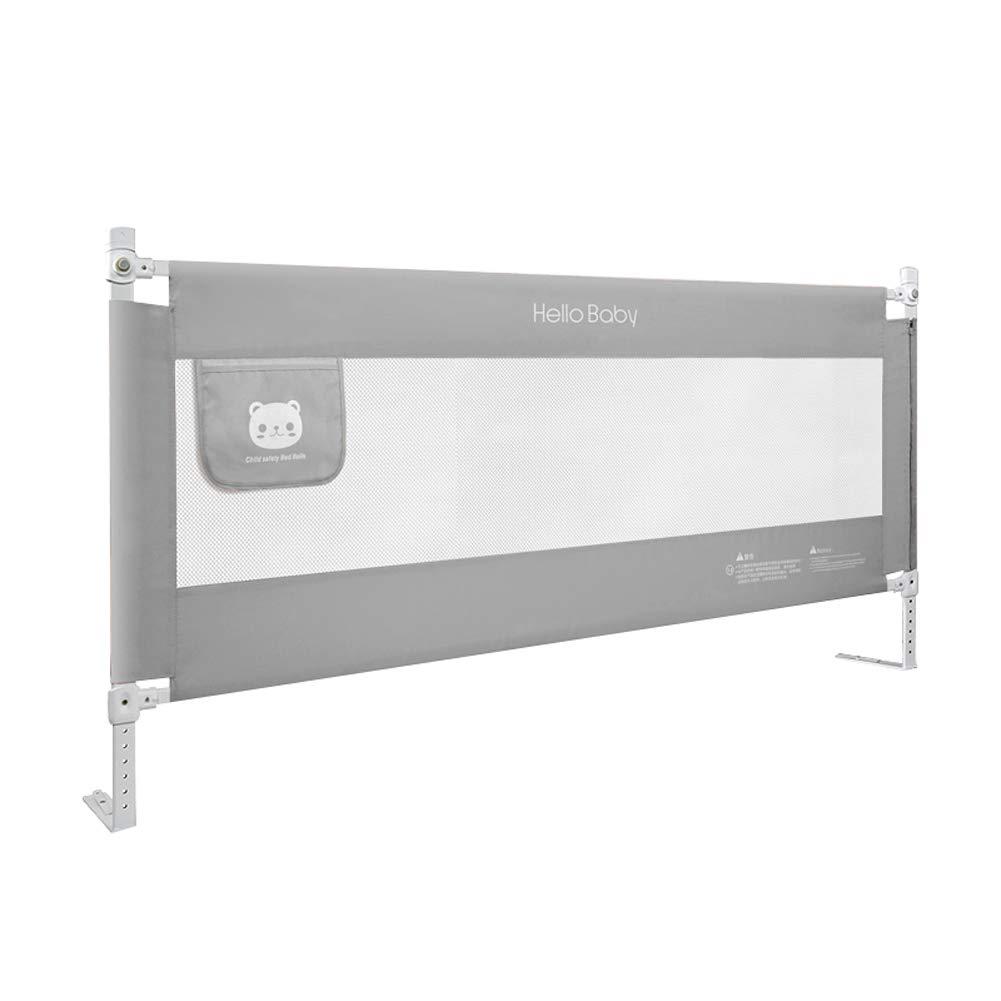 ベッドレール ベビーベッドレール子供の安全落下防止睡眠ベッドガードレールベッドサイドガード取り外し可能なウォッシュカバー付き、垂直リフトベビーベッドバンパー (サイズ さいず : 2m) 2m  B07MSB541G