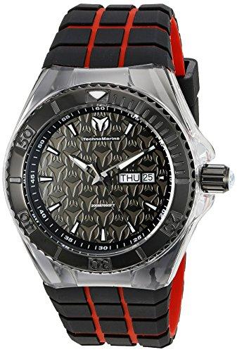 technomarine-mens-tm-115184-cruise-locker-analog-display-swiss-quartz-two-tone-watch