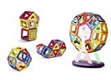 Keten Magnetic Building Blocks Set—Upgraded Magnetic Construction Stacking Toys for Children Over Three Years Old [52pcs]