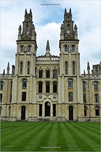 c976b84a82b94 Charming View of All Saints College Oxford University England Journal  150  Page Lined Notebook Diary  CS Creations  9781542622325  Amazon.com  Books