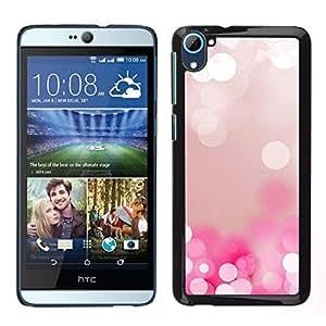 // PHONE CASE GIFT // Duro Estuche protector PC Cáscara Plástico Carcasa Funda Hard Protective Case for HTC Desire D826 / White Water Pearl Ice Reflection /