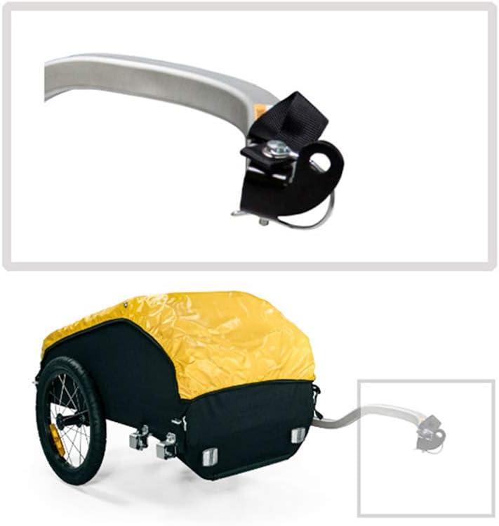 Acoplamiento de remolque de bicicleta para cargas tija de sillín remolques embrague 28001