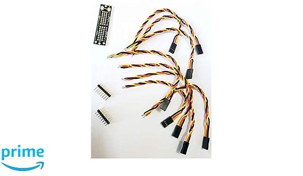 Amazon com: OSEPP - Servo Power Board (unassembeld with pins