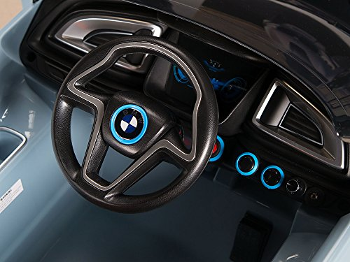 bmw i8 12v kids ride on battery powered wheels car rc. Black Bedroom Furniture Sets. Home Design Ideas