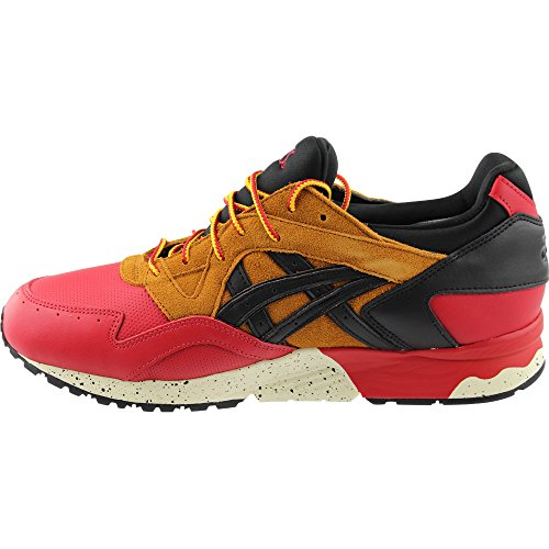ASICS Gel-Lyte V G-TX Men Round Toe Leather Red Running Shoe Red/Black ebTMCBLxA