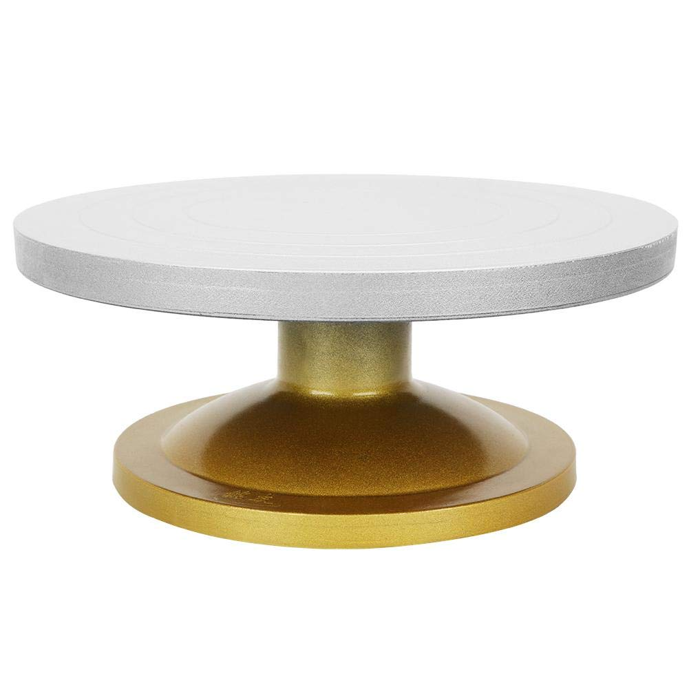 Caredy Pottery Wheel, Professional Metal Pottery Turntable Pottery Wheel Rotating Table Turntable Clay for Modeling Sculpture(23cm)
