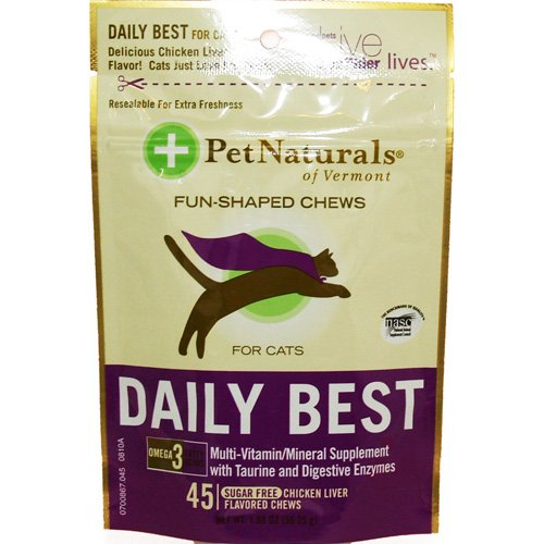 Daily Best for Cats – 45 – Chewable, My Pet Supplies