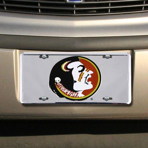 Florida State Seminoles (FSU) Silver Osceola Head License