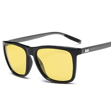 ZHRUIY Gafas de Visión Nocturna Hombre y Mujer Magnesio de Aluminio Aleación Marco 100% ProteccióN UV Gafas De Sol Deportes y Aire Libre Senderismo Gafas 5 ...