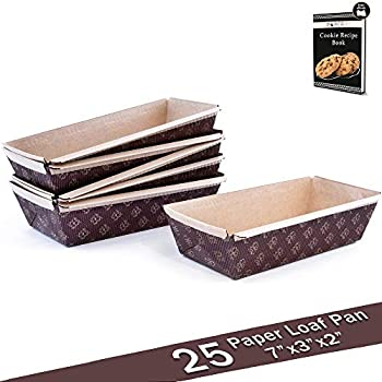 Amazon Com 2lb Pack Of 40 Non Stick Loaf Tin Liners