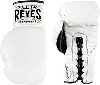 Cleto Reyes Standard Collectible Autograph Boxing Glove White