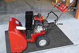 Oil-Dri L90793 Needle Punched Polypropylene Mini Garage Guard Industrial Rug, 3\' L x 2\' W, 1-Roll