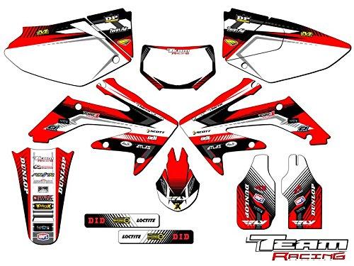 Team Racing Graphics kit compatible with Honda 2004-2017 CRF 250X, ANALOG