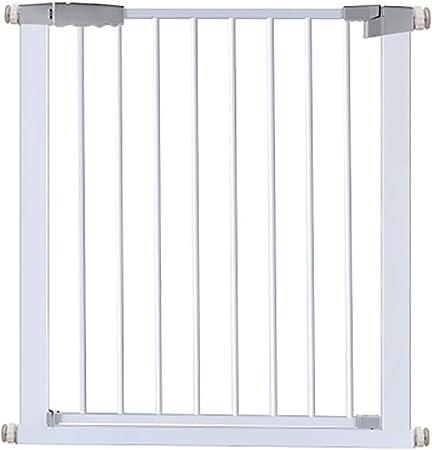 Los Niños Puerta De La Escalera, Sin Perforada Barrera De Seguridad Metálica Puerta De Aislamiento Mascota Balcón Valla Zona De Juegos Interior (Altura 78cm) (Size : 209-216cm): Amazon.es: Hogar