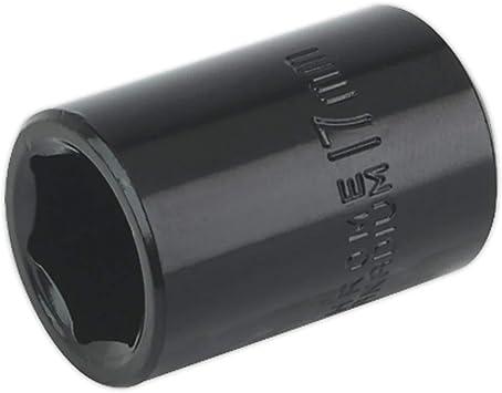 "Sealey IS1217 Impact Socket 17mm 1//2/""Sq Drive"