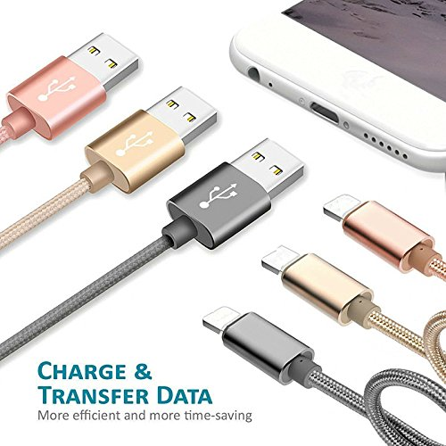 USB-Type-C-Cable-AOSOK-New-3Pack-1ft30cm-Short-Nylon-Braided-Fast-USB-C-Charging-Cord-for-Samsung-Note-8-Galaxy-S8-S8-Plus-LG-G6-G5-Google-Pixel-OnePlus-5-and-More-SilverGreyBlack