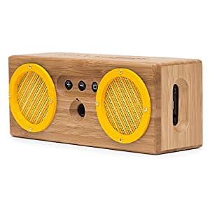 BONGO Bamboo Wood Portable Bluetooth Speaker, Rio