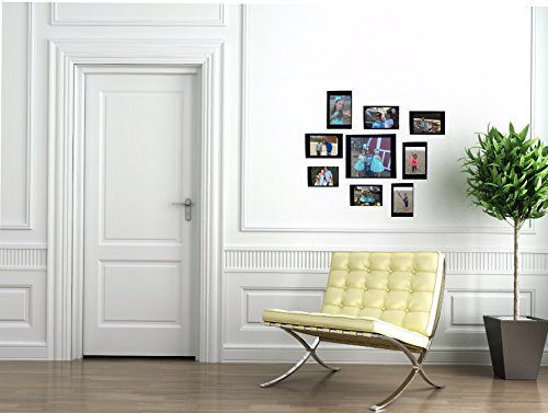 Additional Frame - Wall Decal Photo Collage 9 Sticker Picture Frames Additional Frames for Class Tree